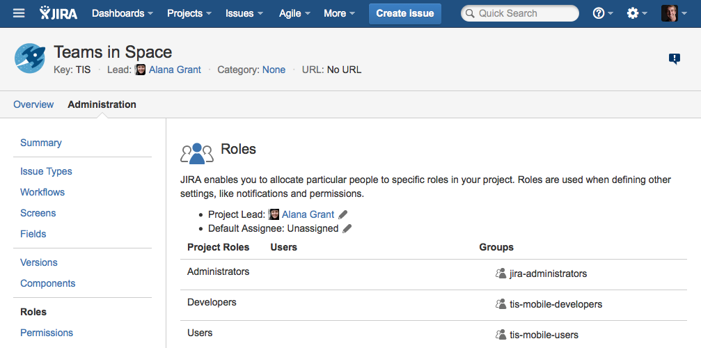 Users Groups And Roles In Jira Personal Blog Of Matthew Stublefield